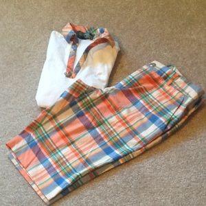 Lauren Ralph Lauren short and polo shirt golf set